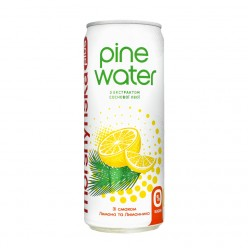 Пайн Вотер 0.33л ж\б Лимон-Лимонник