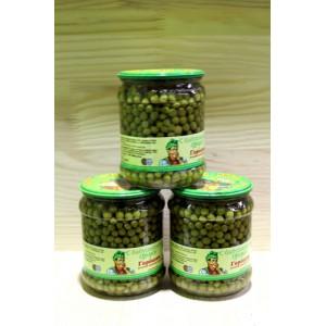 Горошек зелёный стерилизованный