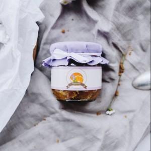 Апельсиновй мармелад с лавандой
