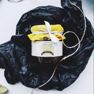 Лимонно-имбирный мармелад